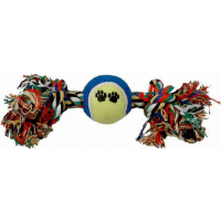 Rope and Tennis Ball Toy