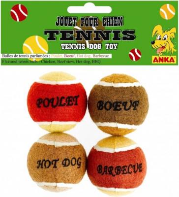 Balles de Tennis - Pack Salé (x4)
