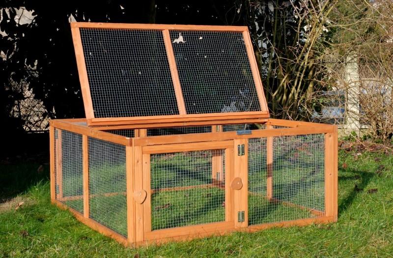 Enclos run out clapier et cage d 39 ext rieur for Enclos lapin interieur