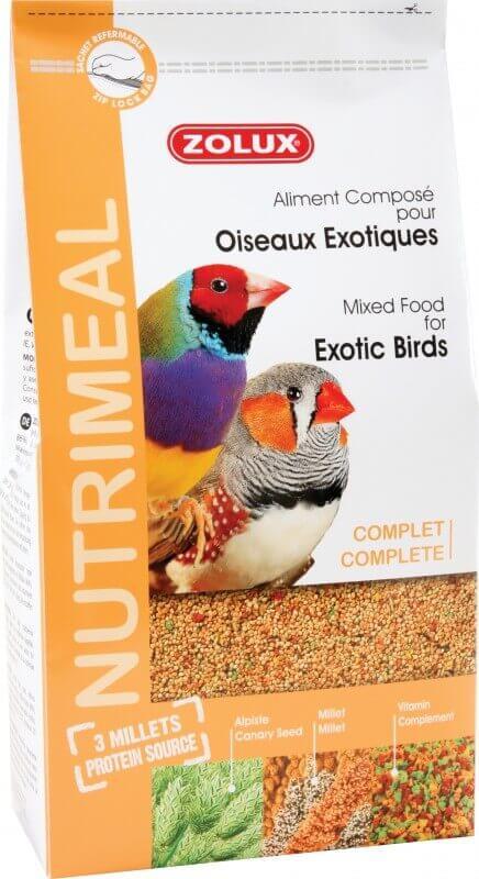 Alimentation Nutrimeal Exotique standard