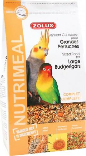 alimentation grande perruche nutrimeal nourriture oiseaux. Black Bedroom Furniture Sets. Home Design Ideas