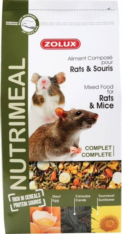 Aliment rat et souris NUTRIMEAL Standard