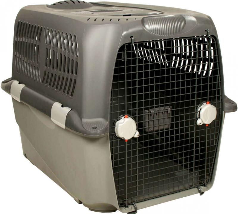 caisse de transport chien pet cargo. Black Bedroom Furniture Sets. Home Design Ideas