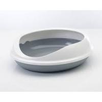 Bac à litière ovale Figaro pour chat
