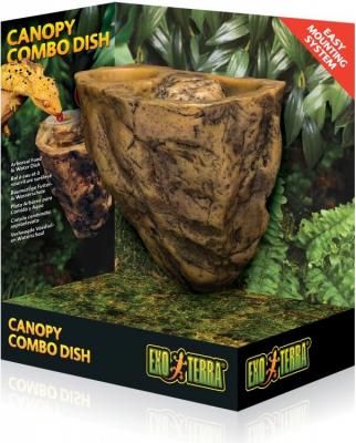 Cuenco 2 en 1 para reptiles Canopy Combo Dish