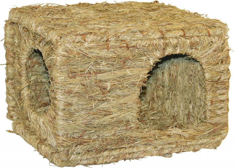 Strohütte XL für Nagetiere