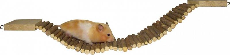 Pont pour hamster Nature