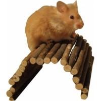 Pasarela de madera - flexible