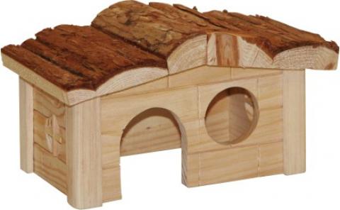 Maisonnette pour hamster nature