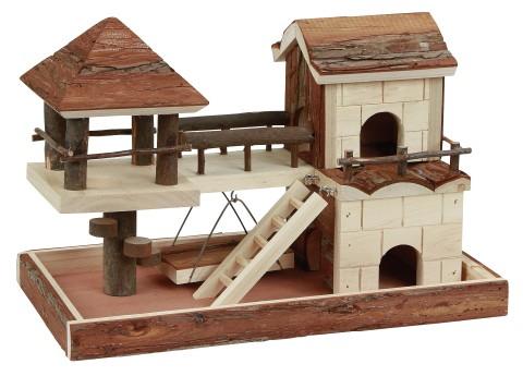plan maison hamster
