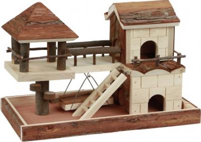 Casa de escalada para hamster