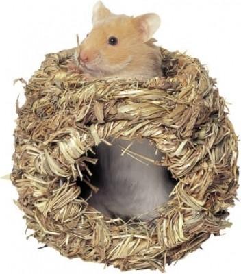 Nichoir en herbe pour hamster