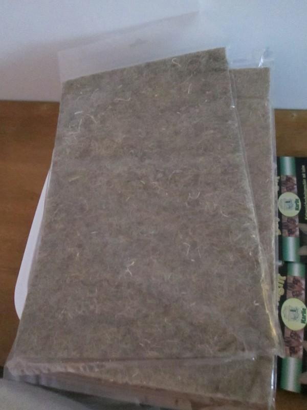 avis sur tapis pour rongeur en chanvre 2 tailles. Black Bedroom Furniture Sets. Home Design Ideas