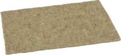 Lecho (alfombrita) de cáñamo para roedor - 2 tamaños