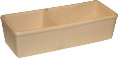 Comedero de cerámica doble 350 + 450 ml
