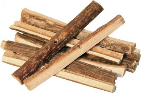 unbehandelte Holzstöckchen für Nagetiere