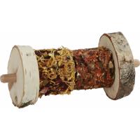 Granen-groentenmix saté op houten spies
