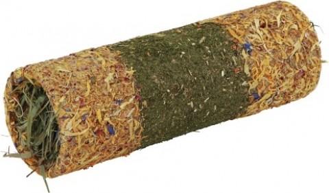 Tunnel aux céréales et pétales, fourré au foin - 3 tailles
