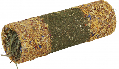 Met hooi gevulde graan- en bloemblaadjestunnel - 3 maten
