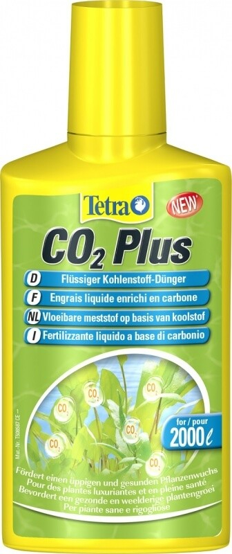 Tetra CO2 Plus Carbone liquide pour plante d'aquarium