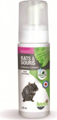 Shampoing sec sans rinçage- Verveine citronnée - Mousse rats & souris