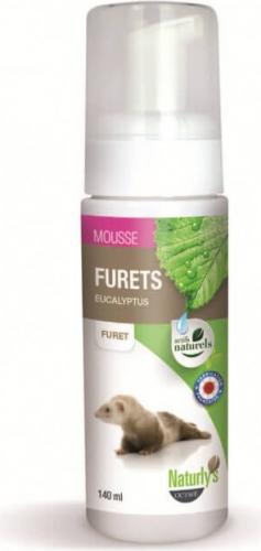 Shampoing sec sans rinçage - Mousse furets