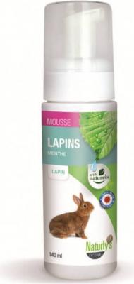 Champú en seco sin aclarado - Espuma para conejos y liebres