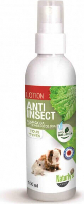 Lotion insecticide Margosa et citronnelle de Java