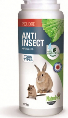 Poudre anti insectes -  Antiparasitaire Insecticide