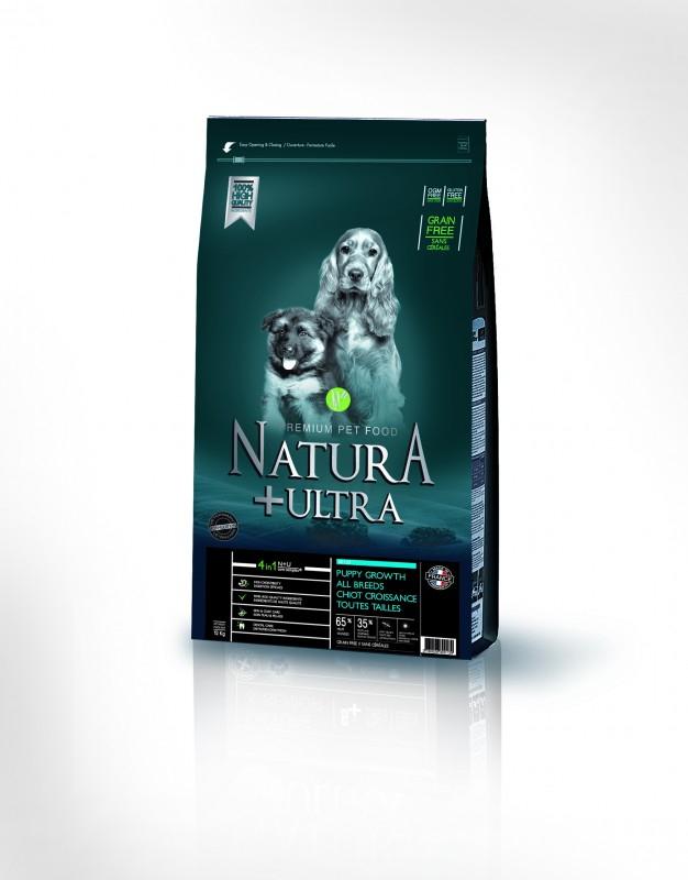 natura ultra grain free sans c r ales chiot croissance toutes tailles croquettes chien. Black Bedroom Furniture Sets. Home Design Ideas