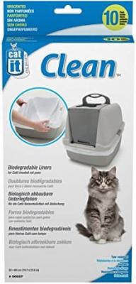Lot de 10 sacs  pour maison de toilette Cat it PM