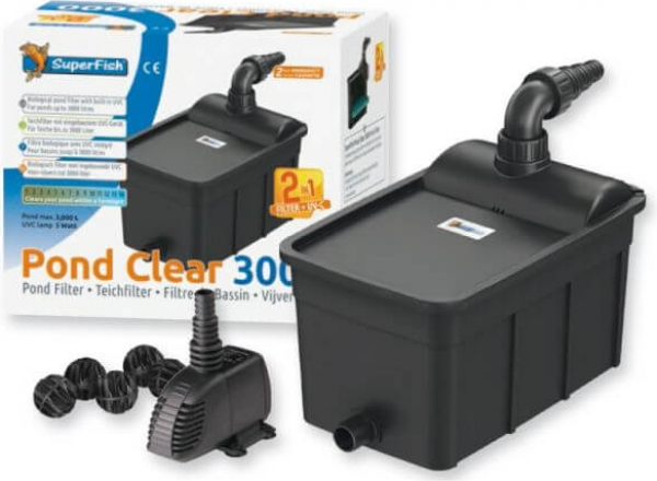Kit Complet Pond Clear 3000 + UV + Pompe