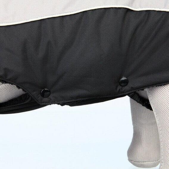 Manteau d'hiver Marne noir