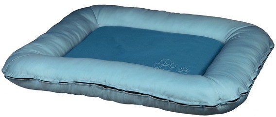 coussin drago bleu glace bleu p trole coussin et tapis. Black Bedroom Furniture Sets. Home Design Ideas