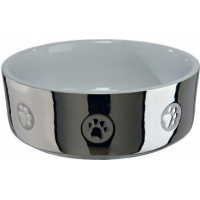 Ceramic Bowl with Paw Prints