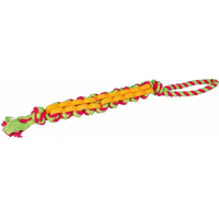 Denta Fun Twisted Stick, corde avec caoutchouc naturel
