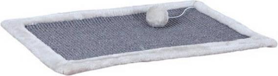 Tapis griffoir gris clair