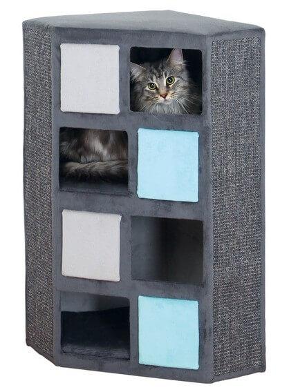 combin tour griffer et arbre chat pino griffoir. Black Bedroom Furniture Sets. Home Design Ideas