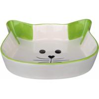 Ecuelle céramique tête de chat