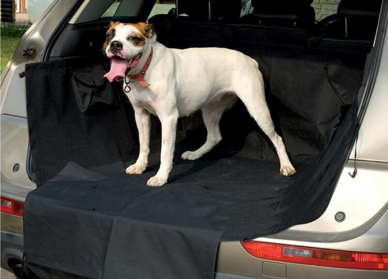 Protege maletero de coche para perro accesorios para el for Housse protection coffre chien