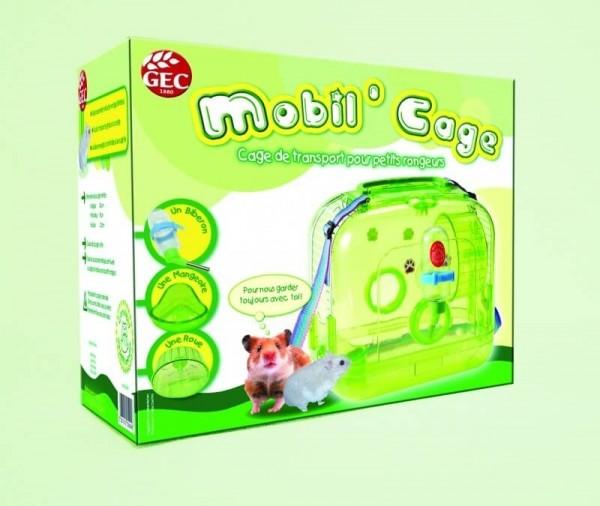 Mobil' cage - Cage de transport pour petits rongeurs