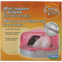 Mini Covered Litter Tray and Small Shovel