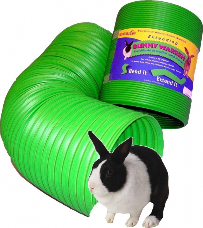 Snugglesafe Bunny Warren Tunnel extensible 76 cm pour lapin
