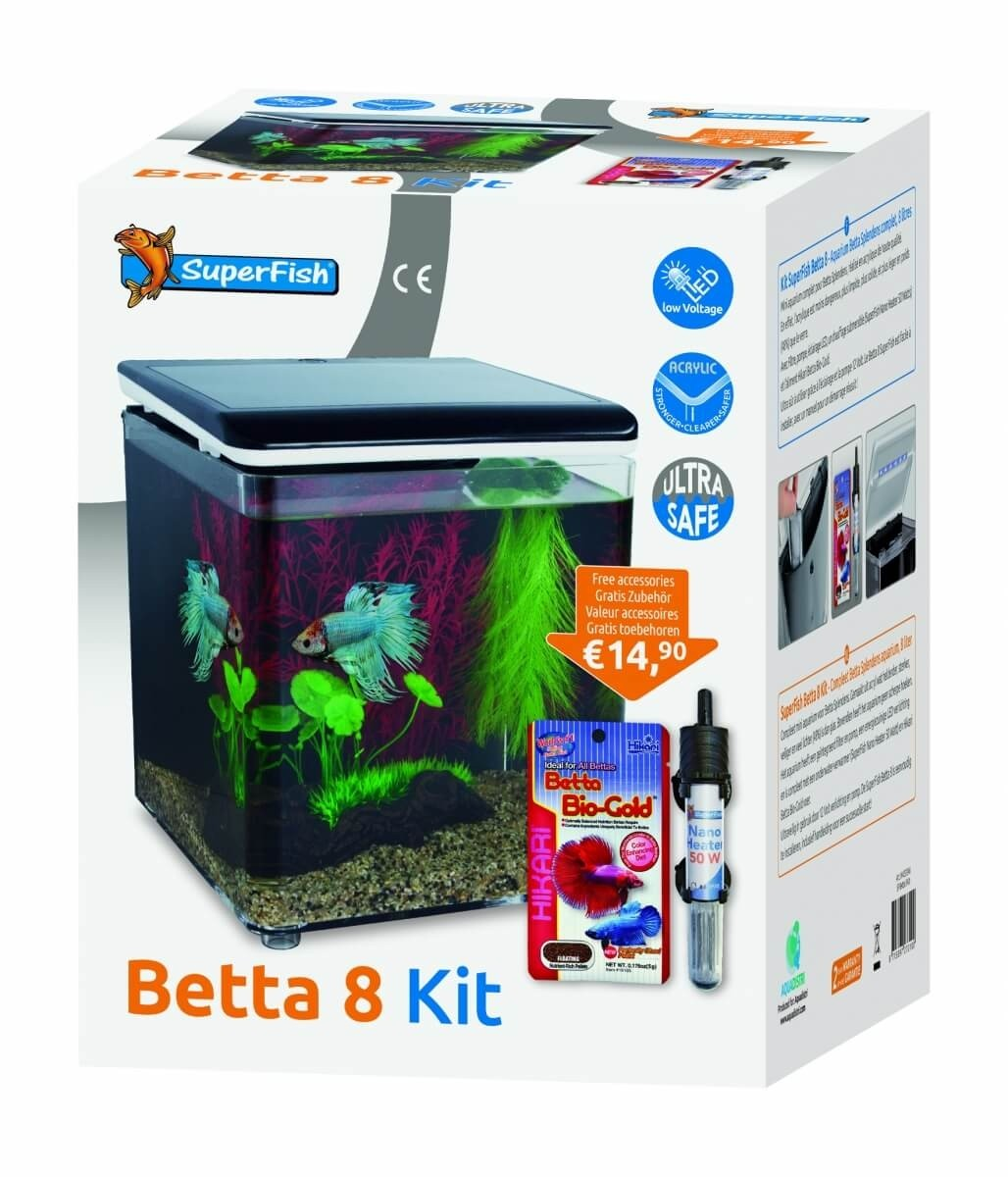 Home 8 et Betta Kit - mini aquarium acrylique_4