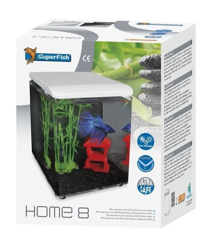 Home 8 et Betta Kit - mini aquarium acrylique_1