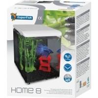 Mini aquarium acrylique HOME 8 SuperFish