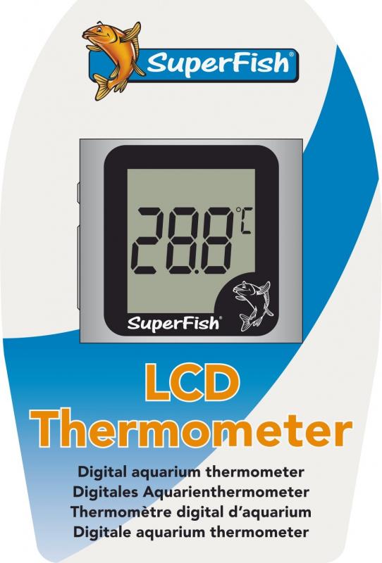 Thermometre LCD & suspendu