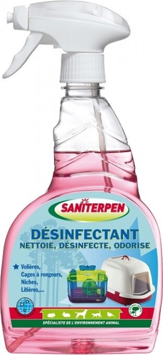 Désinfectant spray Saniterpen 750 ml