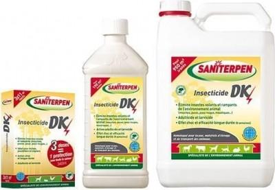 Insecticide DK Saniterpen - 3x60 ml, 1 ou 5 L.