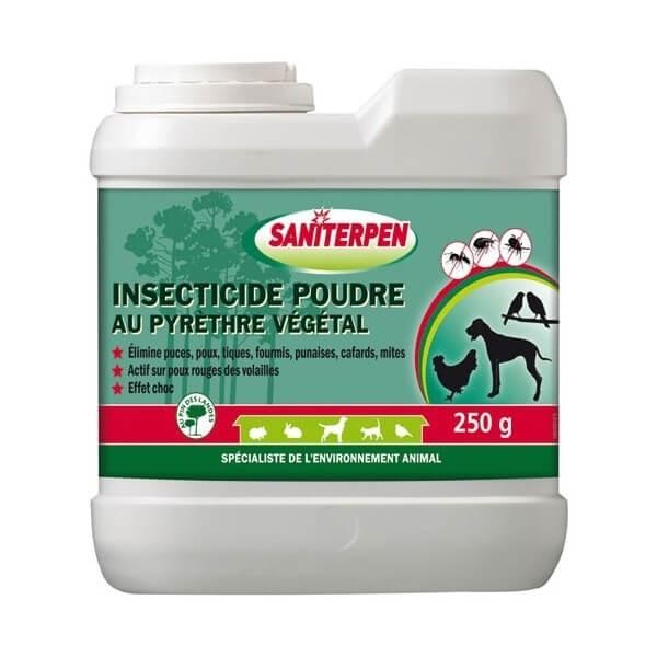 Insecticide en poudre au Pyrèthre Végétal Saniterpen _0